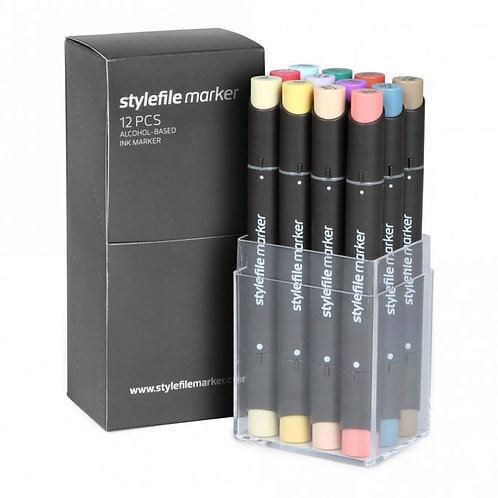 Stylefile Marker 12 Set C