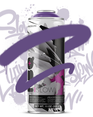 NBQ slow spray paint