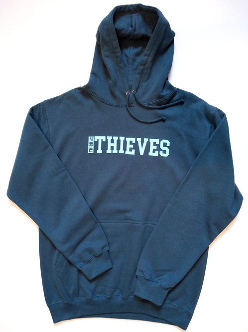 Thick as thieves college hoodie