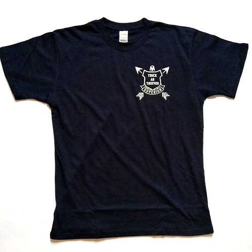 Lil Thieves navy blue superior tee