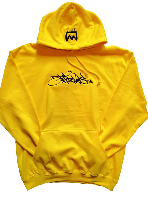 Thieves yellow hand style hoodie