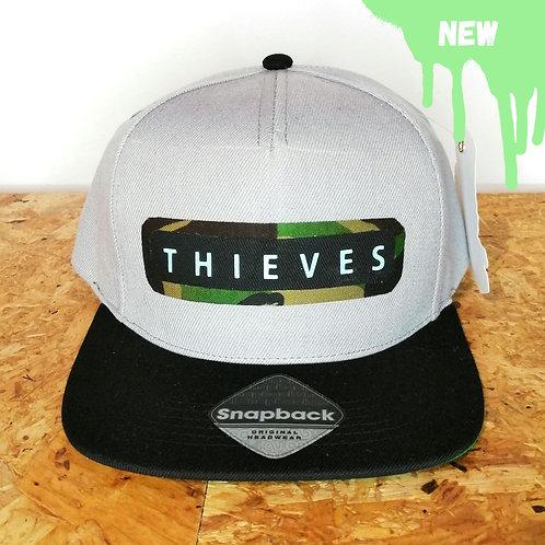 Thieves camo logo snapback