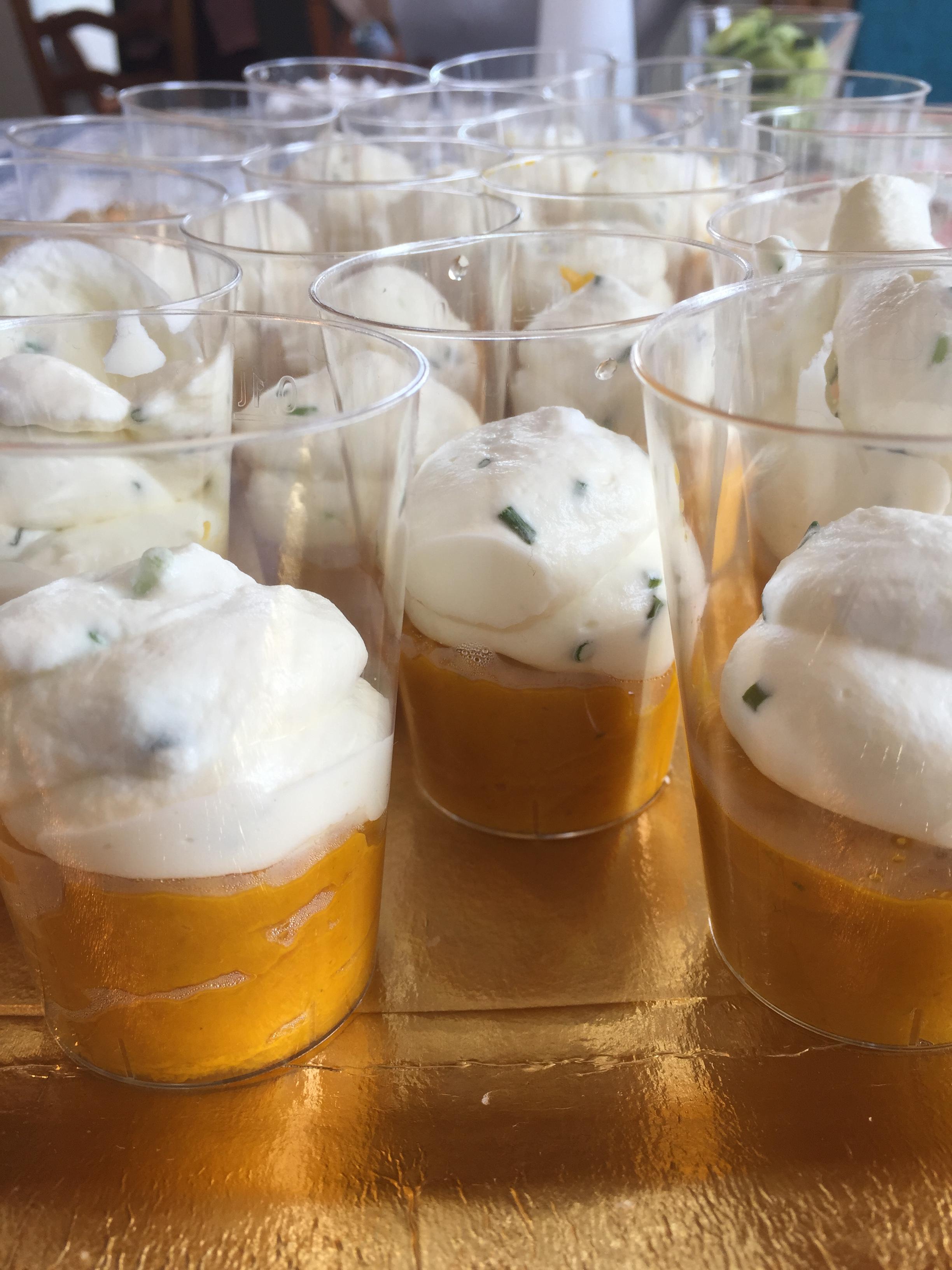 bicchierini di carote vicky