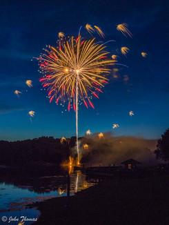 Lake Fairfax Fireworks 2