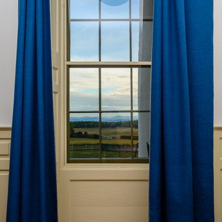 Blue Curtains