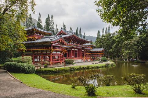 Byodo-In Temple, O'ahu, Hawaii