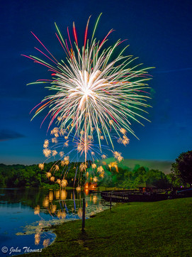 Lake Fairfax Fireworks