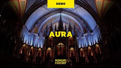 AURA at Basilique Notre Dame