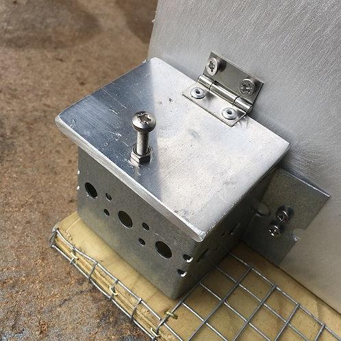 Feeder Port Cover - 6mm Aluminium