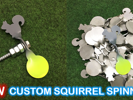 New custom squirrel spinner is here!