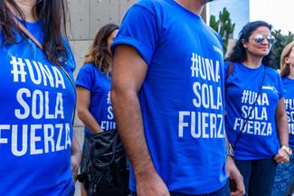 #UnaSolaFuerza