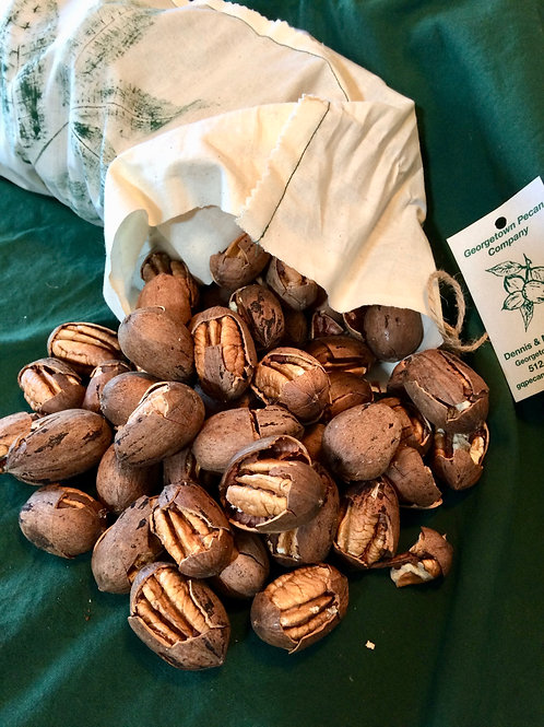 Cracked Desirable pecans (alternative source of Desirable halves)