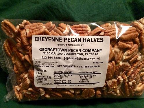 Cheyenne pecan halves - 1 lb. Light color, sweet flavor