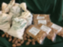 Pecans ready for sale