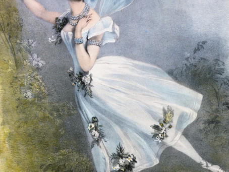 Бальное платье Сильфиды