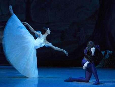 Дебют Кристины Шапран в партии Жизели на сцене Михайловского театра