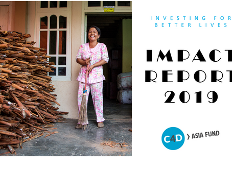 OUR ANNUAL IMPACT REPORT 2019