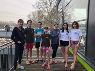 Viele neue Bestzeiten beim Jugend Winter Schwimmfest für den SCN