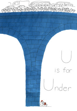 U is for Under