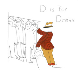 D is for Dress