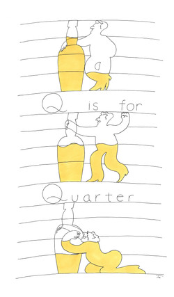 Q is for Quarter