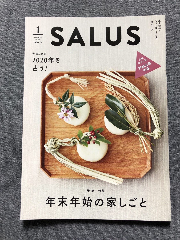 挿絵のお仕事〈SALUS 1月号〉
