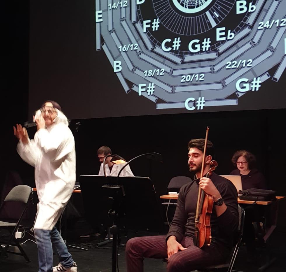 Subatomic Desire au Théâtre du Passage de Neuchatel