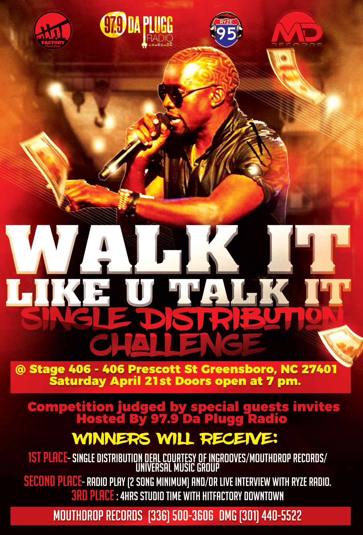 Walk It Like U Talk It Event