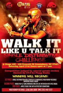 Walk It Like U Talk It Event