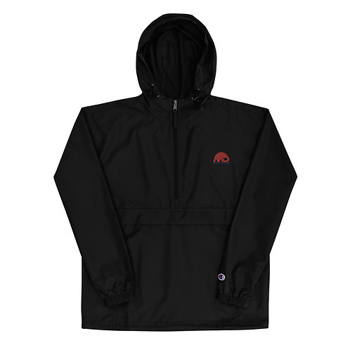 MD Embroidered Champion Packable Jacket