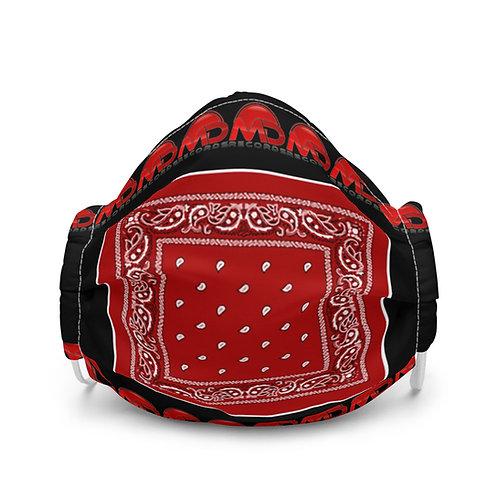 Red Bandit Face Mask