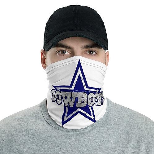 All White Cowboys Neck gaiter