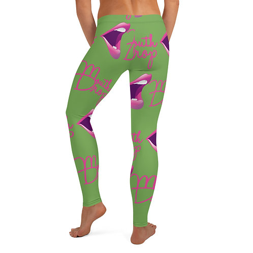 Slime MouthDrop Collectionz Logo Leggings