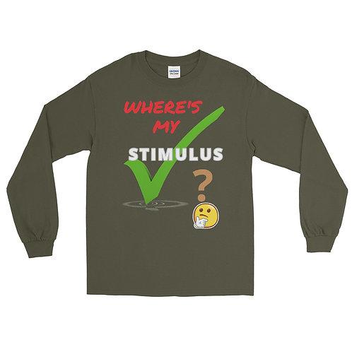 Stimulus Check Unisex Long Sleeve Shirt