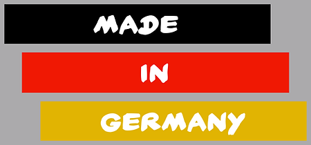 Made in germany, by the hat pal.
