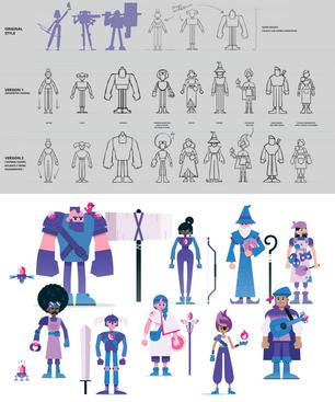 Rupie - Illustrations