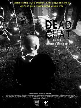 Affiche Dead Chat - Clément Boyer-Dilolo