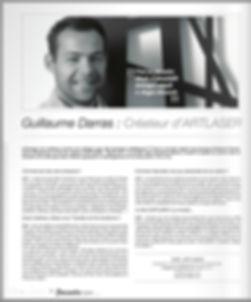 présentation ARTLASER hosaiis presse Guillaume DARRAS 1pulsion décoration