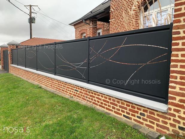 clôture décoration sur-mesure