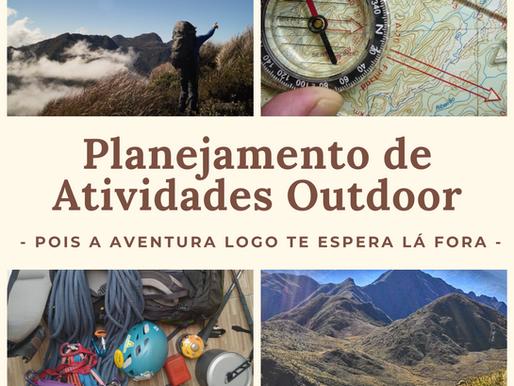 Planejamento de Atividades Outdoor - Parte 1
