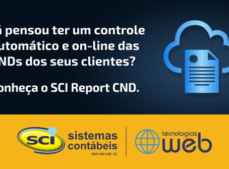 SCI Report CND - Controle Automático das Certidões Negativas de Débito