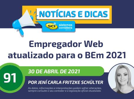 Empregador Web atualizado para o BEm 2021