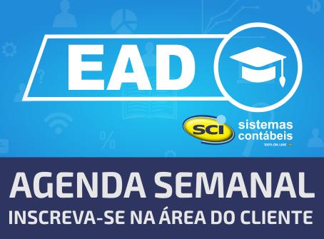Cursos EAD SCI para Clientes - Agenda Semanal