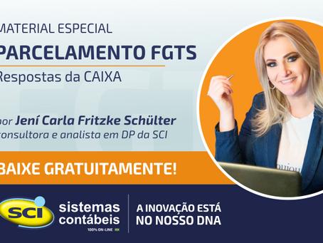 Parcelamento FGTS - Respostas da CAIXA
