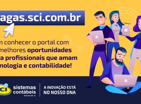 Novo Portal de Vagas SCI