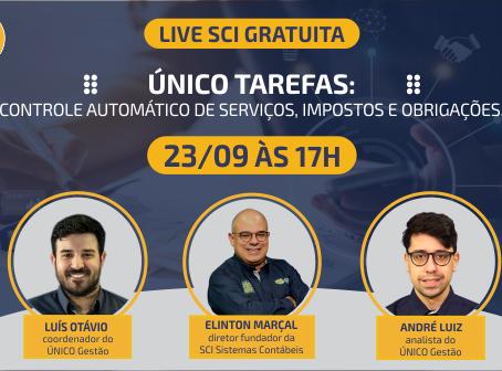 LIVE SCI - ÚNICO TAREFAS: CONTROLE AUTOMÁTICO DE SERVIÇOS, IMPOSTOS E OBRIGAÇÕES