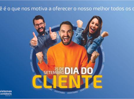 HOJE É DIA DO CLIENTE