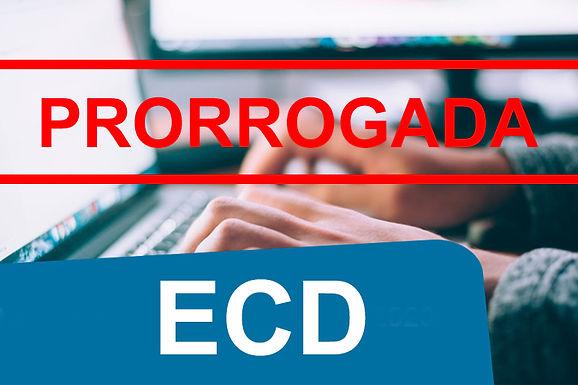 Instrução Normativa RFB nº 2.023 prorroga o prazo de entrega da ECD
