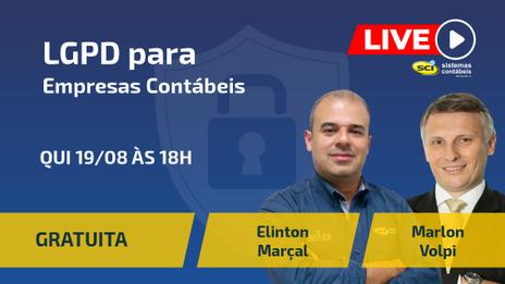 LIVE SCI - LGPD para Empresas Contábeis!