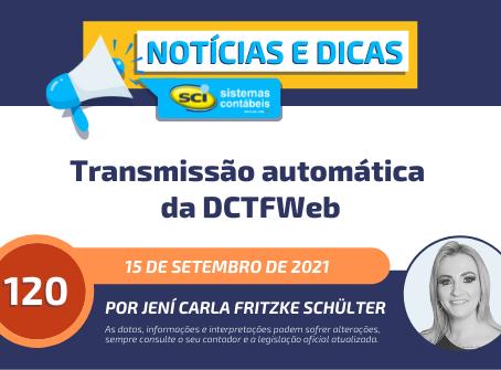 Transmissão automática da DCTFWeb